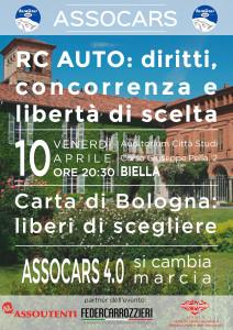 Locandina RC Auto: diritti, concorrenza e libertà di scelta